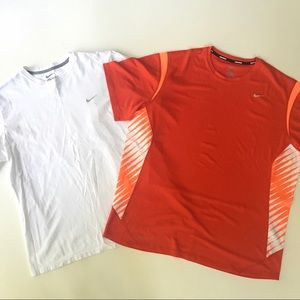Nike XL Short Sleeve Top Shorts Dri Fit